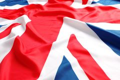 UK, British flag, royalty free stock photo