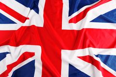UK, British flag,. Union Jack stock photo