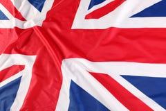 UK, British flag, Union Jack Royalty Free Stock Photos