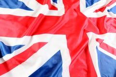 UK, British flag, Union Jack. The UK, British flag, Union Jack Royalty Free Stock Photos