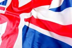UK, British flag, Union Jack.  Stock Photo