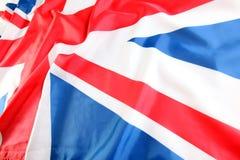 UK, British flag, Union Jack.  Royalty Free Stock Image