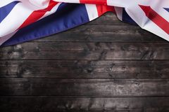 UK, British flag, Union Jack Stock Photography