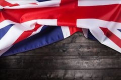 UK, British flag, Union Jack Stock Photo