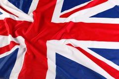 UK brittisk flagga, Union Jack Royaltyfri Fotografi