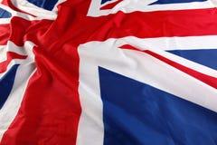 UK brittisk flagga, Union Jack Royaltyfri Bild