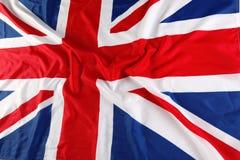 UK brittisk flagga, Union Jack Royaltyfri Foto