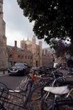 uk Cambridge ruch drogowy Fotografia Royalty Free
