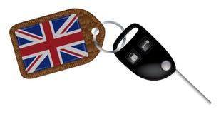 UK Car Key and Fob Royalty Free Stock Photos