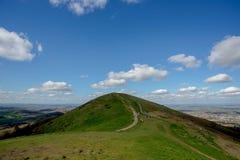 UK chmurny Lanscape obrazy stock