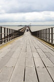 Uk coastline southend pier Stock Image