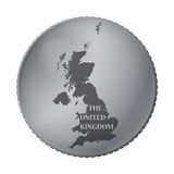 UK Coin Royalty Free Stock Photo