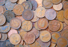 UK Coins Royalty Free Stock Images