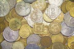 UK Coins Stock Photography