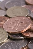 UK Coins Image Stock Photography