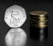 UK coins Royalty Free Stock Image