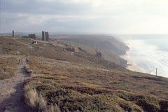 UK, Cornwall, St Agnes Zdjęcie Stock