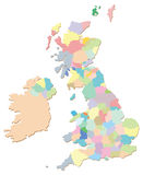 UK Counties Stock Photography