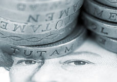 UK Currency Royalty Free Stock Images
