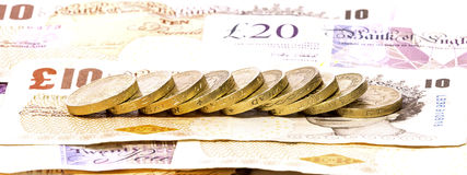 UK Currency Royalty Free Stock Photography