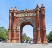 Łuk De Triomf w Barcelona, Hiszpania Zdjęcie Royalty Free