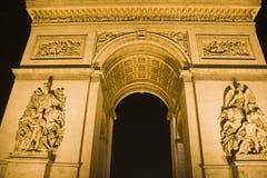 łuk De Triomphe Zdjęcie Stock
