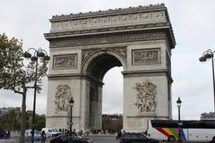 Łuk De Triomphe fotografia stock