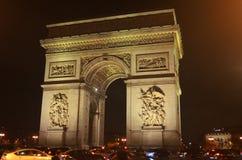 Łuk De Triomphe De l'Ãtoile Zdjęcie Royalty Free