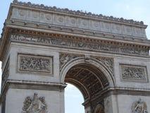 Łuk De Triomphe De l'Ãtoile Obraz Stock