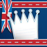 Uk decoration Royalty Free Stock Photo
