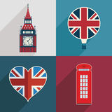 Uk decorations Royalty Free Stock Photo