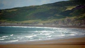 uk Devon plażowy puttsborough zdjęcia royalty free