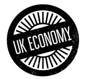 Uk Economy rubber stamp Stock Photos