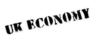Uk Economy rubber stamp Stock Photo