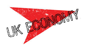 Uk Economy rubber stamp Royalty Free Stock Images