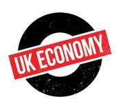 Uk Economy rubber stamp Royalty Free Stock Photos