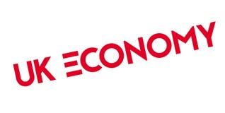Uk Economy rubber stamp Royalty Free Stock Photography
