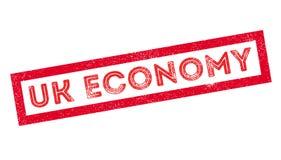 UK Economy rubber stamp Royalty Free Stock Image
