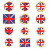 Uk emblems Royalty Free Stock Photos