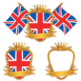 Uk emblems Stock Image