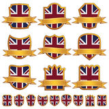 Uk emblems Stock Photo