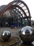 UK England Yorkshire Sheffield vinterträdgårdarna Royaltyfri Foto