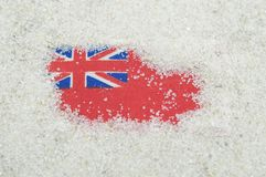 Uk  ensign flag Stock Photography