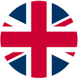 UK flag Royalty Free Stock Images