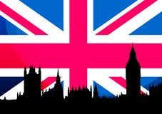 UK flag stock illustration