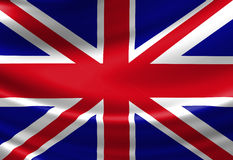 UK flag Stock Photo