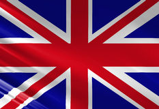 UK flag Royalty Free Stock Image