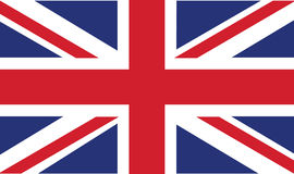 Uk flag stock illustration