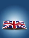 UK Flag On Book Stock Photo