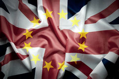 UK flag Brexit concept Royalty Free Stock Photos
